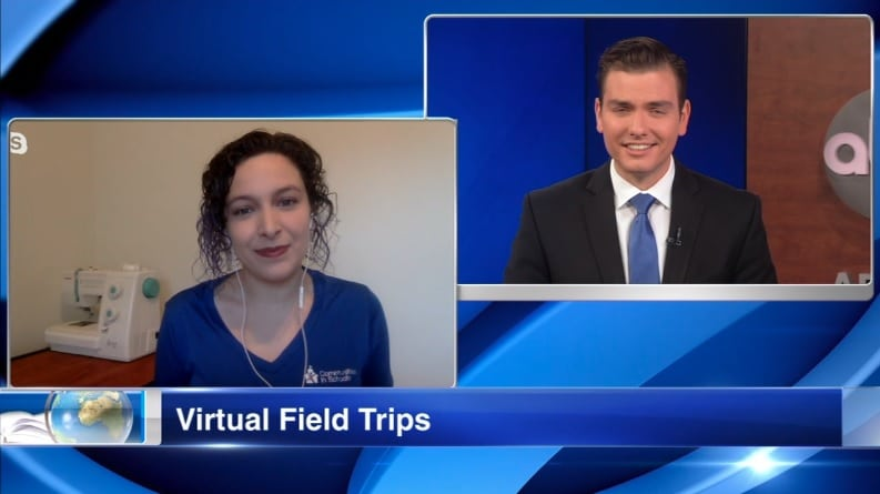 ABC 7: Chicago Public Schools Students Take Virtual Field Trips
