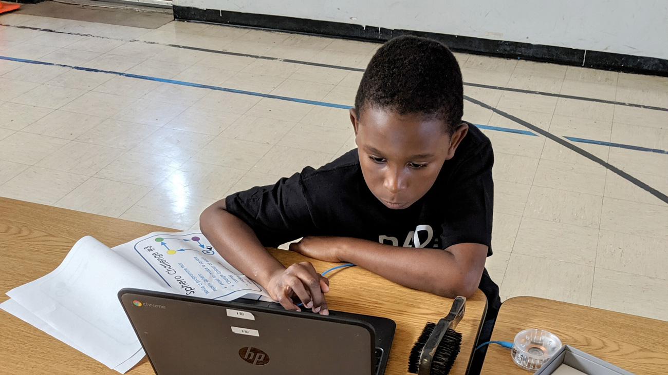 WBBM Newsradio: Nonprofit Works to Keep At-Risk CPS Students 'Logged In' to Remote Learning