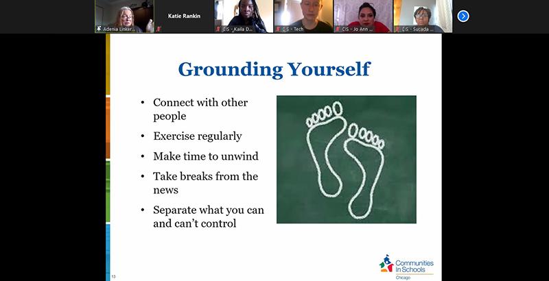 Grounding Yourself
